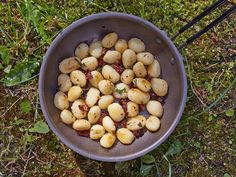 You'll need 10 minutes only to make these delicious, gold and crispy potato dumplings on the trail!