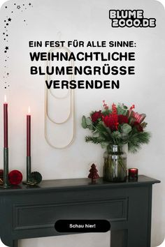🎁🎄Cozy Christmas: Lass den Weihnachtszauber bei dir einziehen oder versende eine blumige Überraschung an deine Liebsten Christmas Mood, Vintage, Home Decor, Christmas Jewelry, Advent Season, Balcony, Decorating, Decoration Home, Room Decor