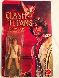 CLASH OF THE TITANS Mattel Perseus Action Figure