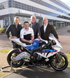 Michael Dunlop and BMW