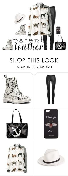 """Patent Leather & Puppies!"" by superstubbs on Polyvore featuring Dr. Martens, Rick Owens, Gucci, STELLA McCARTNEY and rag & bone"