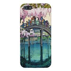 SOLD! - Kameido Bridge by Hiroshi Yoshida shin hanga iPhone 5 Cover #kameido #bridge #yoshida #hanga #iphone #case #cover #art #iphone5