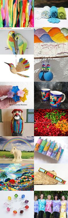 Color my Rainbow by Lisa Epp on Etsy--Pinned+with+TreasuryPin.com