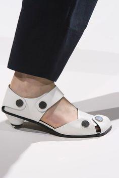 dcf353419d6 Stella McCartney at Paris Fashion Week Spring 2017 - Details Runway Photos  Ugly Shoes