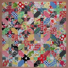 japanese x & 0 quilts | Japanese x and + blocks by Cabbage Quilts, via Flickr