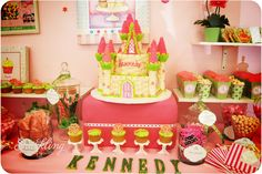 beautiful desserts | Sparkling Events & Designs: {Real Party} Pamper Me Princess Spa ...