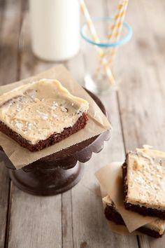 Paula Deen Salted Caramel Brownies