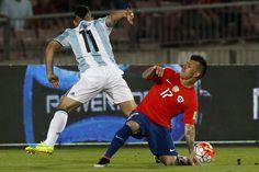 Las mejores imágenes del duelo entre Chile y Argentina