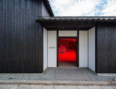 Japan Architecture, Contemporary Architecture, Architecture Details, Festival D'art, Le Ranch, Timber House, Japan Design, Architect Design, Door Design