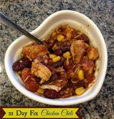 Melinda Besinaiz: 21 Day Fix Chicken Chili
