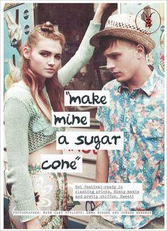 Company Magazine : June     The Rush Straw Hat.