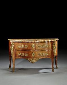 Commode d'époque Louis XV, Estampille de Francois Mondon