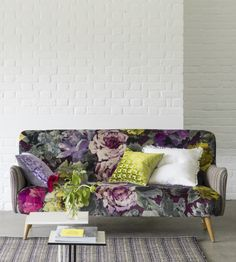 Bloomsbury Rose Fabric by Designers Guild | Jane Clayton