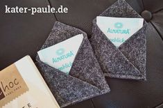 Teebeuteltasche | Filz | Tee | kleine Geschenke | Nähen | DIY | Kater Paule näht
