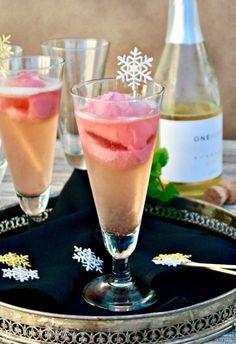 Italian Raspberry Prosecco Cocktail (Sgroppino)Really nice  Mein Blog: Alles rund um die Themen Genuss & Geschmack  Kochen Backen Braten Vorspeisen Hauptgerichte und Desserts