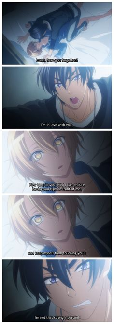 Love Stage!! Episode 6 Ryouma take me! I'm a girl that looks like a boy so if the reverse of Izumi works out OK....
