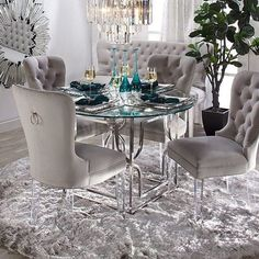 Top 12 Astonishing Luxury Dining Room Ideas That Wows Luxury Dining Room, Dining Room Design, Dining Room Furniture, Dining Chairs, Furniture Sale, Room Chairs, Dining Room Decor Elegant, Furniture Design, Grey Dinning Room