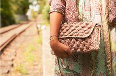 #MMissoni   Summer 15   Raffia Bag   Interpreted by Josie Loves