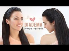 M ♥ ♥ LÉEME / DESPLIEGAME ♥ ♥ TRENZA CASCADA COMO DIADEMA Hoy os voy a enseñar como hacer una diadema de cabello con una trenza de cascada. Es una trenza muy b...