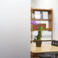 Frost Static Cling Privacy Window Film 39(w) X3ft(l) by Buydecorativefilm, http://www.amazon.com/dp/B00CTUQX64/ref=cm_sw_r_pi_dp_dz7Prb0P96XXA