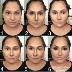 Fotos de moda | El maquillaje puede cambiar nuestro rostro | http://soymoda.net