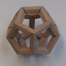 New Model of the Dodecahedron: Hand-Made from Beech wood