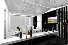 Stand design for the wineries Conte Collalto - Vinitaly 2013