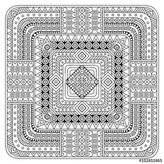 Vector: Vector indian Mandala