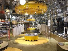 Floor graphic under displays - Monki store by Electric Dreams London