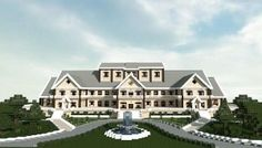 Luxury Mansion minecraft building ideas house design 3