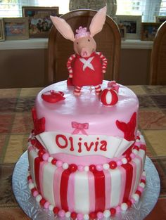 Let's hope Bella doesn't see this cake.  i don't have the time to replicate.