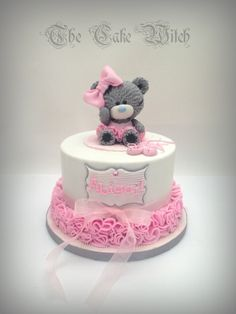 Tatty Teddy / Teddy Bear Ballerina Birthday Cake