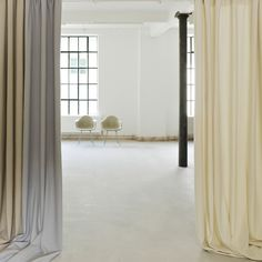 Nina Mair work acoustic curtains