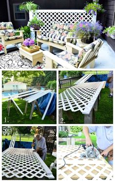 Pergola Ideas For Patio Pergola Shade, Pergola Patio, Backyard Patio, Pergola Ideas, Cheap Pergola, Privacy Ideas For Deck, Screened Patio, Backyard Shade, Backyard Privacy