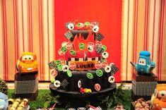 Bolo festa Carros  (Disney Cars cake)
