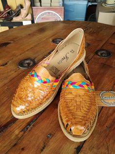 Huarache hecho a mano, calzado artesanal mexicano ...