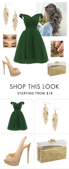 """""""Elegant lady"""" by paoladouka on Polyvore featuring Humble Chic and Christian Louboutin"""