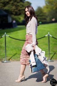 STYLE DU MONDE / London FW SS15 Street Style: Araya Alberta Hargate  // #Fashion, #FashionBlog, #FashionBlogger, #Ootd, #OutfitOfTheDay, #StreetStyle, #Style