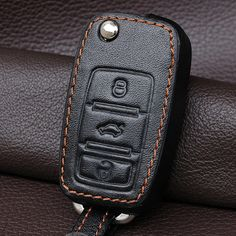Cheap car key case cover, Buy Quality leather key fob holder directly from China key fob holder Suppliers: Genuine Leather Car Key Cover Case Holder Set For Vw Polo Golf 4 5 6 Passat Jetta Tiguan Bora Fob Flip Remote Keychain Polo Golf, Golf 4, Interior Accessories, Leather Accessories, Passat B5, Volkswagen Polo, Key Covers, Car Keys, Leather Cover