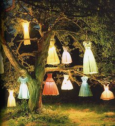 lamp dresses