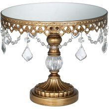 What a cake stand! Gorgeous for cake or cupcakes!