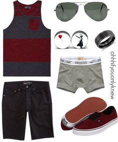 A fashion look from February 2013 featuring black sneakers, mens tank tops and men's apparel. Browse and shop related looks. Tomboy Outfits, Hot Outfits, Summer Outfits, Fashion Outfits, Androgynous Fashion, Tomboy Fashion, Tomboy Look, Future Clothes, Best Wear