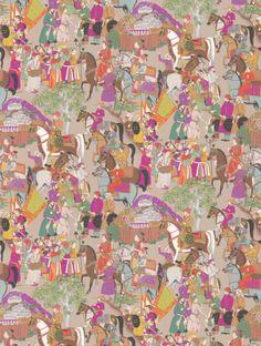 Manuel Canovas Dara Wallpaper - 3074/02 - Taupe