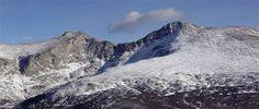 Mt. Bierstadt - 14,060' -  Aug. 23, 2001 & Aug. 6, 2005 & Aug 14, 2012