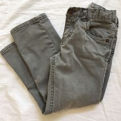 Check this item I am selling on Totspot, the resale shopping app for families.   Grey Straight Jeans Cherokee (Target)  Love this! #kidsfashion #familyfashion