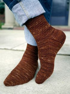 Sign of Four (a sock for Sherlock) pattern by Anne Hanson would be fabulous knit in Serenity Glitter Sock from Zen Yarn Garden