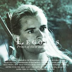 Legolas - Prince of the Woodland Realm. Son of King Thranduil, Legolas was a unique elf able to connect four races. Aragorn, Legolas And Thranduil, Tauriel, Gandalf, Jrr Tolkien, Tolkien Books, Fellowship Of The Ring, Lord Of The Rings, Narnia