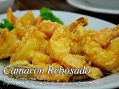 Camaron rebosado or simply known as battered fried shrimps is a tasty appetizer or viand. This shrimp dish is a Filipino version of tempura which is a Japanese Best Filipino Recipes, Filipino Food, Asian Recipes, Filipino Shrimp Recipe, Filipino Dishes, Beer Recipes, Shrimp Recipes, Cooking Recipes, Vegetarian Recipes