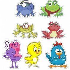 Resultado de imagem para personagens galinha pintadinha para imprimir