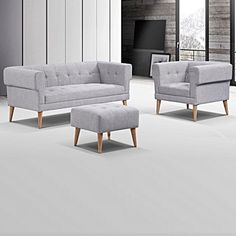 Ceshire 3 Piece Sofa Set by Iniko